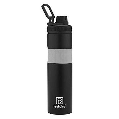 Frabble8 GripZO Sipper Single Walled Stainless Steel Fridge, Sports, Office and Travel Water Bottle 800ml || Perfect for Normal and Cold Beverages