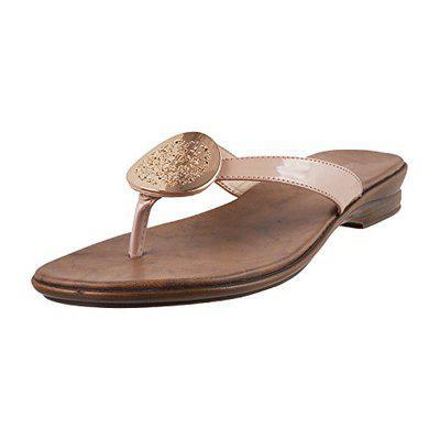Metro Women Bronze Synthetic Sandals (41-3256-46-40) Size (/India (40EU)