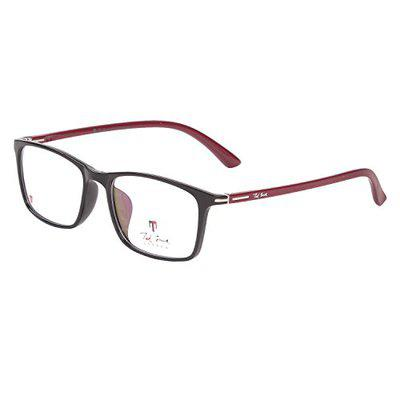 Ted Smith Full Rim Square Unisex Spectacle Frame - (TS-TR-9009_C8_XXX|52)