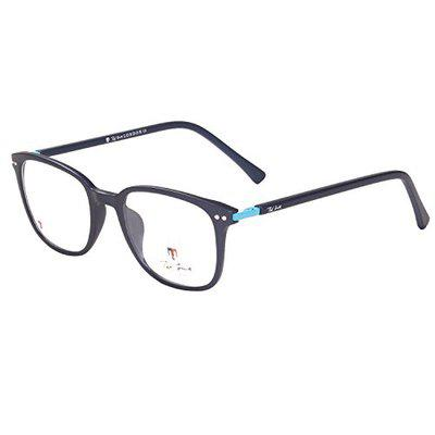 Ted Smith Full Rim Square Unisex Spectacle Frame - (TS9008_M.BLU_XXX|51)