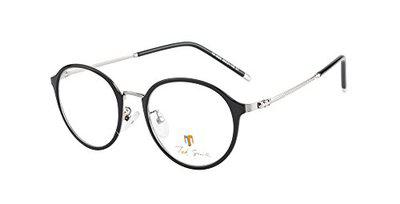 Ted Smith Full Rim Round Unisex Spectacle Frame - (TS-TR-9300_C1_XXX 49)