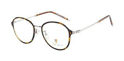 Ted Smith Full Rim Round Unisex Spectacle Frame - (TS-TR-9299_C19_XXX 50)