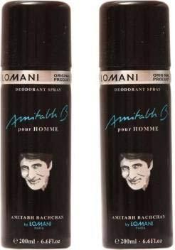 Amitabh bachchan deodorant 200 ml (pack of 2)