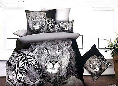 Sassoon Printed 5th Generation Luxurious Designer Africana Collection Super Soft Skin Friendly Fabric Anti Allergic Cotton Room Bedsheet with 2 Pillow Covers (Attractive Packaging) (Limited Edition)