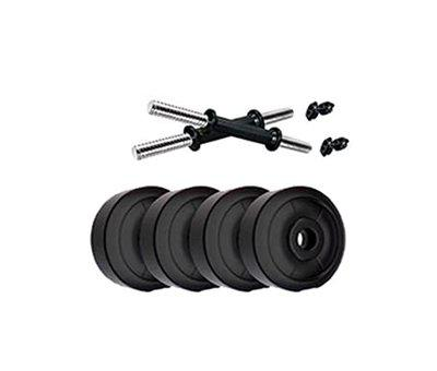 L'AVENIR Fitness PVC Plates Adjustable Dumbbell Set for Home Gym Work-Out (4)