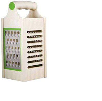Xudo 4 in 1 Cheese Grater Slicer for Kitchen (Multicolour)