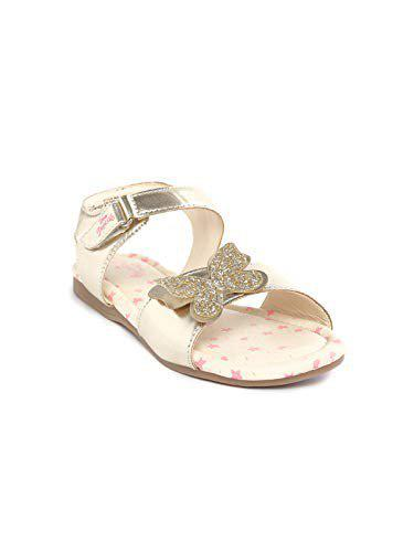 Disney Princess by Toothless Kids Girls Gold Fashion Sandal Sandals-12 UK (31 EU) (13 US) (DPPGFS2540)