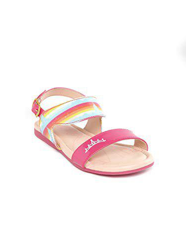 Disney Princess by Toothless Kids Girls Fuchsia Fashion Sandal Sandals-12 UK (31 EU) (13 US) (DPPGFS2539)