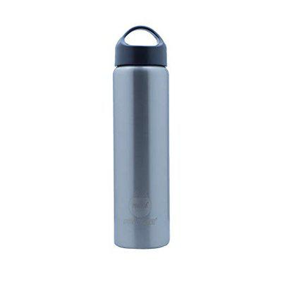 Pearlpet Procasa G40 Double Wall Insulated Stainless Steel Hot and Cool Thermos Water Bottle Silver Colour 750 ML Leak and Rust Free