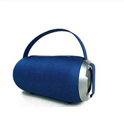JOKIN T&G509 Portable Wireless Bluetooth Stereo Speaker with, Built-in MIC, Support Hands-Free Calls & TF Card & AUX in & FM, 10m Bluetooth Distance -Blue