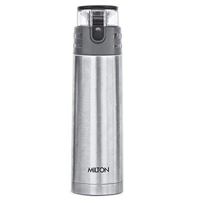 Tuski Atlantis Thermosteel Vaccum Insulated Hot & Cold Water Bottle, 900 ML (Silver)