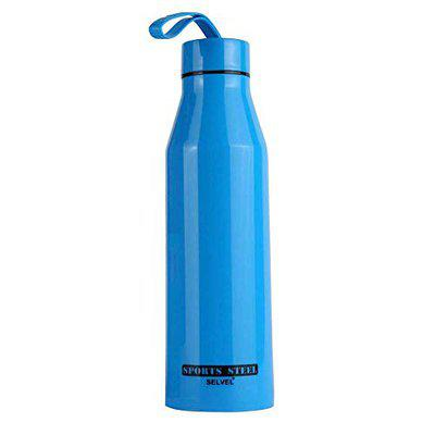 SELVEL Sports Steel Insulated 700 Water Bottle- Blue