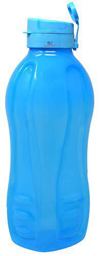 Sarthak Uphaar Jumbo 2 Litre Water Bottle | for Home, Office and Gym | Sturdy with Holder | BPA Free Premium Bottle | Best Big 2L Bottle | Use for HOT and COLD Water