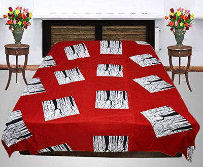IndiWeaves Micro Fibre Lightweight Reversible Three Layered Double Bed Top Sheet/Blanket/AC Dohar