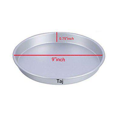 Taj Aluminium Pizza Pan/Plate for Microwave Oven 9 Inch