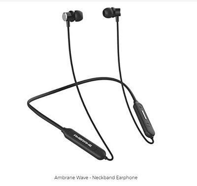 AMBRANE Wave Wireless Earphones (Black) @ MONEX