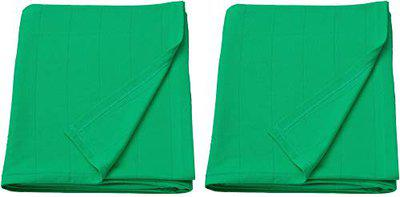 IKEA Oldhild Throw Blanket for Home, Beach, Picnic, Travel, 47 x 67 inch, Green (Set of Two)
