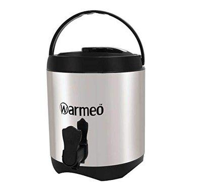 Warmeo Chiller HQ Stainless Steel Insulated Water Jug, Capaicty 3000 ml (3 Liter), Color Black