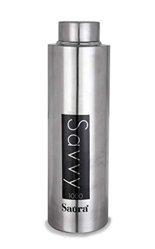Saura 1000 ML Stainless Steel Water Bottle (SS SAVVYY 1000ML)