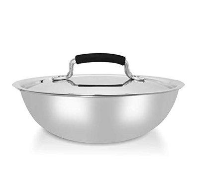 Warmeo Stainless Steel Tri Ply Tasla Induction Friendly, Size 18cm, Capacity 1.2 Liter, Colour Silver
