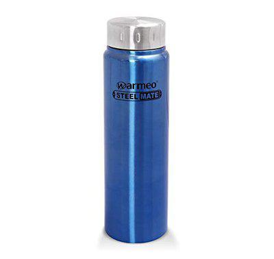 Warmeo Puro Stainless Steel Single Wall Fridge Bottle, Capacity 1000ml, 1 Piece, Colour Blue