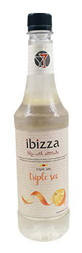 Ibizza Triple Sec Syrup/Squash (750ML), Cocktails and Mocktails