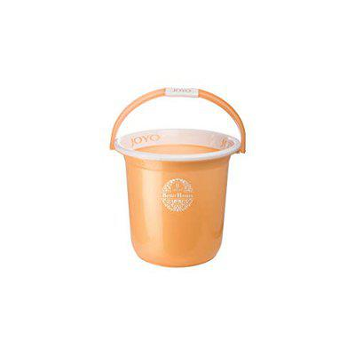 ORENAME Joyo Bucket Better Home Plastic Bathroom Bucket for Home Classical Strong and Unbreakable Plastic Bucket for Bathroom Looking Plain Bucket (Multi Colour) (5 L)