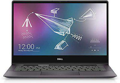 Dell Inspiron 13 7391 2-in-1 13.3 Inch FHD Touchscreen Convertible Laptop with Active Pen (10th Gen Core i5-10210U /8GB LPDDR3/512GB SSD/Windows 10+MS Office2019/Backlit Kb) 1.4kg,Black