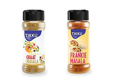 TIKKU Combo of CHAAT and Frankie Masala Pack of 6