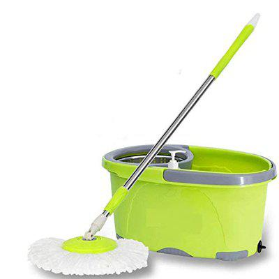 SKE Premium spinwave Bucket Mop with Easy Wheels for Magic 360 Degree Cleaning