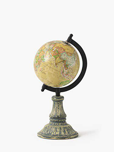Casa Dcor World Globe for Home & Office Decor | 8 Desktop Globe with Metal Stand