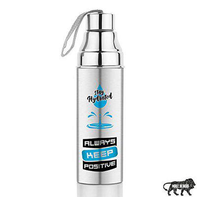 Primelife Stainless Steel 500ML Hot & Cool Water Bottle for Office, School and Home - Made in India (Anticss-500ml)