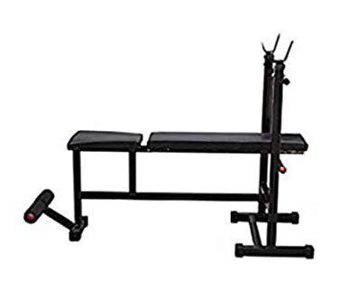 RV Fitness Gym Bench   Gym Bench   Exercise Bench   250Kg Weight Handle   Multipurpose Gym Bench (4 in 1 Adjustable)