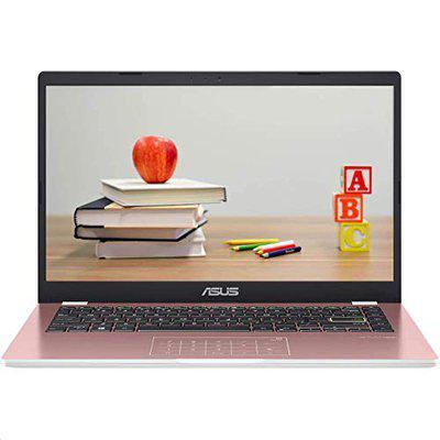 ASUS E410MA-EK320T Intel Pentium Silver N5030 Quad Core /4 GB RAM/256 GB PCIe SSD/35.56 cm 14 inch /FHD 1920 x 1080 Pixel /Intel UHD 605 Graphics/NumberPad Rose Pink 1.3 kg