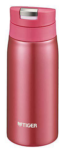 Tiger Stainless Steel Flask Bottle, Vacuum Insulated Double Wall, Opera Pink, 350 ml, MCX-A351