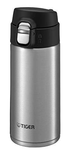 Tiger Stainless Steel Bottles, 0.36L,MMJ-A361_Clear Stainless