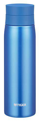 Tiger Stainless Steel Flask Bottle, Vacuum Insulated Double Wall, MCY-A050, Sky Blue, 500 ml, MCY-A050