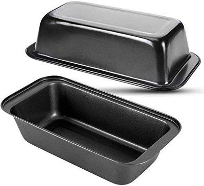 SKARS Nonstick Carbon Steel Baking Bread Pan (8 Inch Pan)