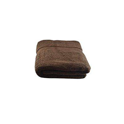 Juvenile Cotton Ultra Soft Bath Towel Brown 1 Pc Full Size for Men and Women