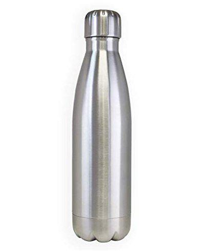HariKrupa Mall Stainless Steel Hot and Cold Water Bottle 750 ml (Silver)