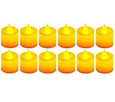XODI LED Candle Tealight Diya    Made in India    Decorative Lights for Home Wall Lighting Decoration (12)