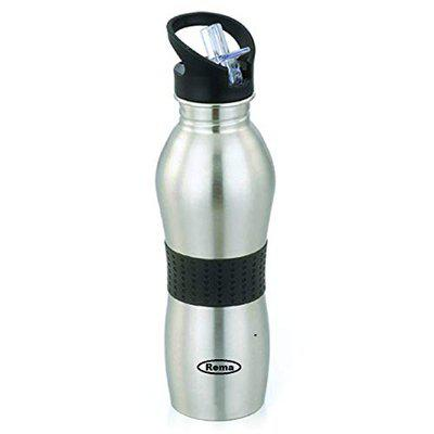 Rema - Stainless Steel Water Bottle- Plastic Free Water Bottle for Office and School (500ml)
