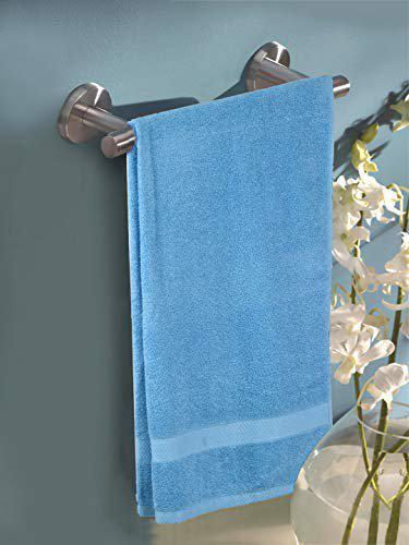 Turkish Bath Premium Belk 550 GSM Cotton Bath & Pool Towel   Royal Luxury   Soft & Quick Dry   Extra Absorbent   Full Size for Men & Women   Solid   (Sky Blue)