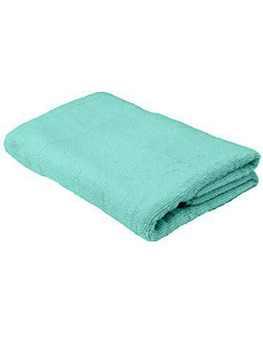 Turkish Bath Premium Belk 550 GSM Cotton Bath & Pool Towel   Royal Luxury   Soft & Quick Dry   Extra Absorbent   Full Size for Men & Women   Solid   (Green)