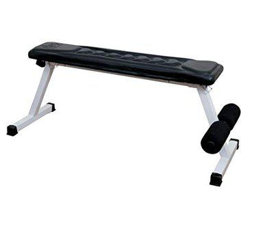 IBS SEAT, Foldable Flat Bench- Up to 500 kg Capacity Tested for Strength Training Multipurpose Fitness Exercise Workout, Heavy Duty Flat Bench for Home & Gym (Limited Edition)