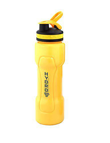 SAURA Water Bottle Kids Reusable Leakproof 500ML Plastic Wide Mouth Large Big Drink Bottle BPA and Leak Free for Cycling Camping Hiking Gym Yoga (Color May Vary) (Hydro Insulated Bottle)