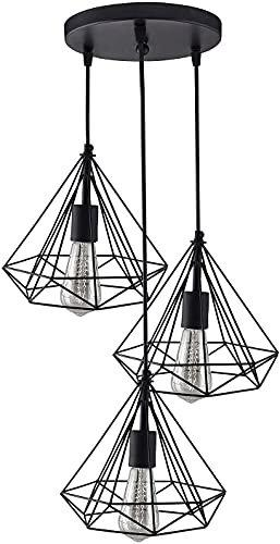 Improvhome Diamond Cluster Pendant Light, Home Decor Items, Hanging Ceiling Decorative Chandelier Roof Light Lamp for Home, Living Room, Bedroom, Hall (Bulb Not Included)