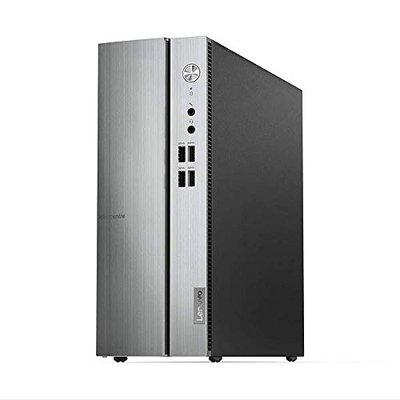 Lenovo Ideacentre 510S 8th Gen Intel Core I3 Tower Desktop 4GB RAM  1TB HDDWindows 10 Microsoft Office Home and Student 2019 with Mouse and Keyboard  74L  Warm Silver 90K800A2IN