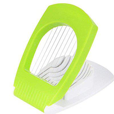 PLENZO Plastic Multi Purpose Egg Cutter/Slicer with Stainless Steel Wires