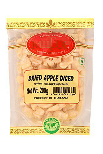 Miltop Dried Apple Diced, 200gm